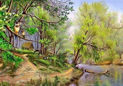29 Lukisan Sejambak Bunga Dari Jarak Dekat Abdullah Suriosubroto Sering Dibicarakan Melalu Karya Karya Lukis Cat Minyaknya Seba Di 2020 Lukisan Lanskap Painting Seni