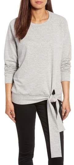 7b9868709 Caslon(R) Tie Knot Sweatshirt #afflink | Womens Sweats and Hoodies ...