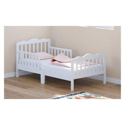 White Storkcraft Hillside Toddler Bed