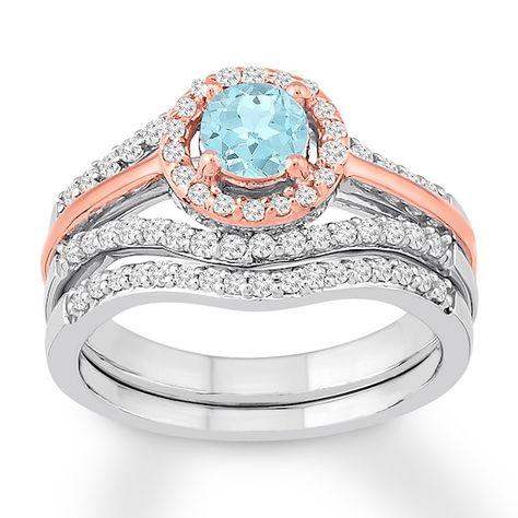 5 5 Carat Aquamarine Engagement Ring Blue Stone Ring White Etsy Blue Engagement Ring Aquamarine Engagement Ring Engagement Ring Blue Stone