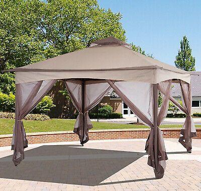 Cedar Gazebo With Aluminum Roof