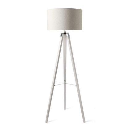 Wood tripod floor lamp white reno lounge pinterest tripod floor lamp and woods