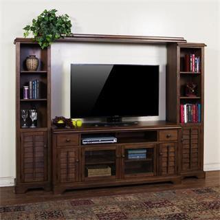 Buy the Sunny Designs 3535AC savannah entertainment wall ... Homeclick Furniture on