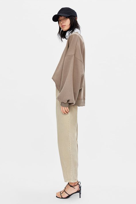 Image 3 of OVERSIZED SWEATSHIRT from Zara
