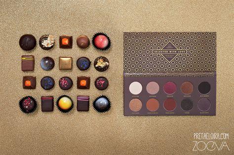 Zoeva Cocoa Blend Con Imagenes Paleta De Sombras De Ojos
