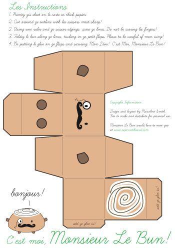 Papercraft Kawaii Buscar Con Google Ideas To Do Rh Com Cupcake Paper Crafts Printable Food