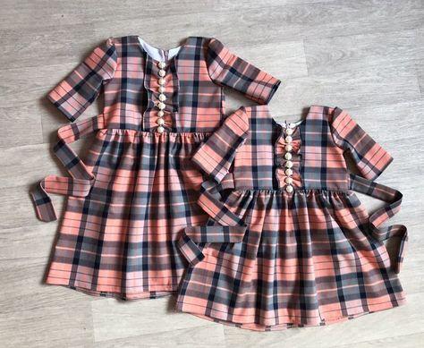c6859a8d13 Piękna sukienka w kratkę. 😉 👉Dostępny rozmiar na 3 i 6 lat. 💸Cena 169 zł.