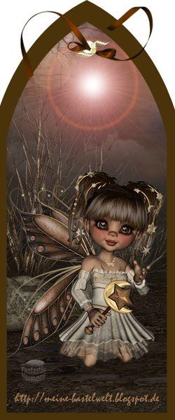 Meine Bastelwelt : Brown Fairytale - image transparente (250×600)