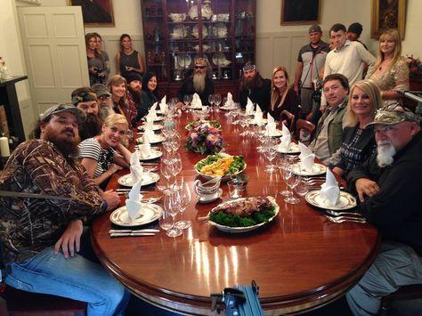 The Robertson Family Dinner in Scotland!