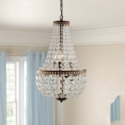 Gartner 6 Light Unique Statement Empire Chandelier With
