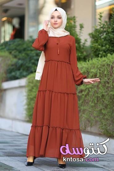 أجمل فساتين محجبات للخروج فساتين انستقرام ناعمة للمحجبات احدث فساتين محجبات ملابس محجبات عصرية2020 Kntosa Com 17 19 156 Dresses With Sleeves Dresses Fashion