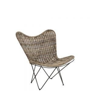 Chaise Lounge Rotin Naturel Mobilier De Salon Fauteuil Chaise