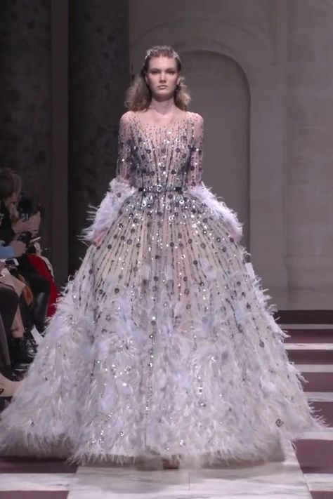 Ziad Nakad Look 7. Spring Summer 2019 Haute Couture Collection
