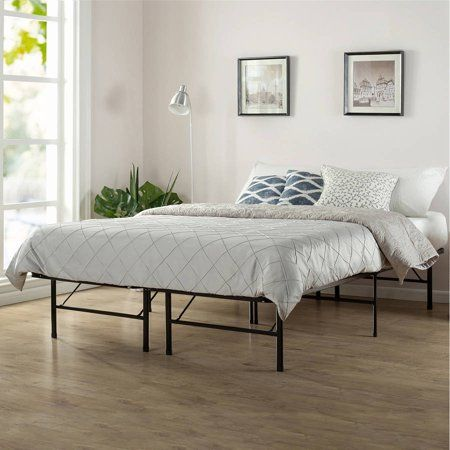 Spa Sensations By Zinus 14 Smartbase Adjustable Mattress Foundation Queen King Walmart Com Bed Frame Bed Frame Mattress Adjustable Bed Frame