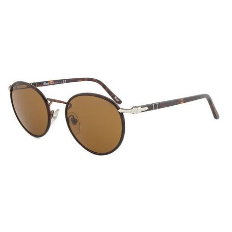 3497254ef549f Persol PO2422SJ 105933 Round Sunglasses with Brown Frame and Brown... ( 209)