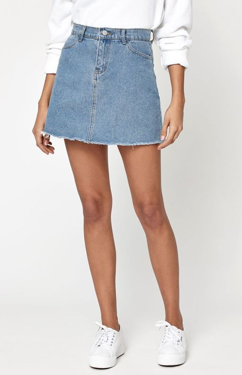 cbdf6b2faca4 John Galt Denim Mini Skirt at PacSun.com