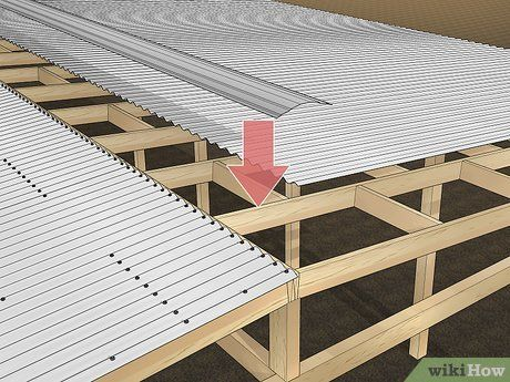 How To Install Corrugated Roofing 8 Steps With Pictures In 2020 Corrugated Roofing Roofing Roof Design