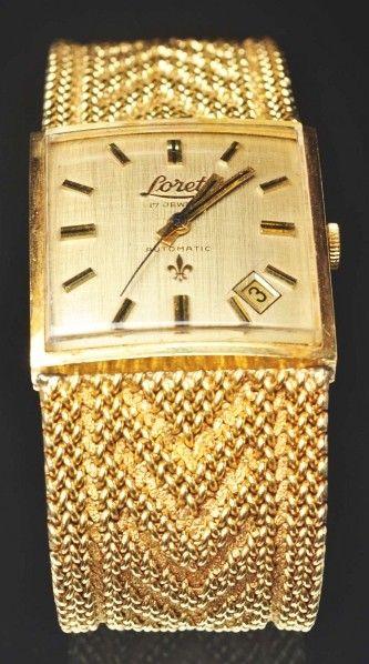 18k Y Gold Lorett Watch Feb 24 2012 Dan Morphy Auctions In Pa Gold Watches Gold Watch