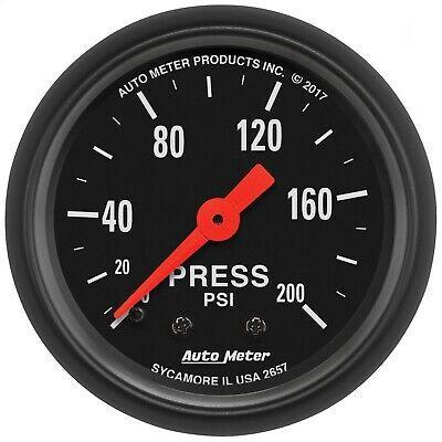 Sponsored Ebay Autometer 2657 Z Series Mechanical Pressure Gauge In 2020 Pressure Gauge Gauges Mechanic