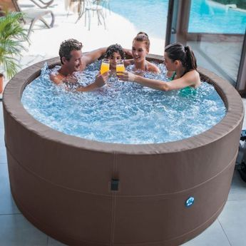 Spa Gonflable Premium 6 Personnes Spa Gonflable Gonflable Spa