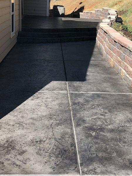 Color Mist One Gallon Concrete Stain Patio Concrete Patio