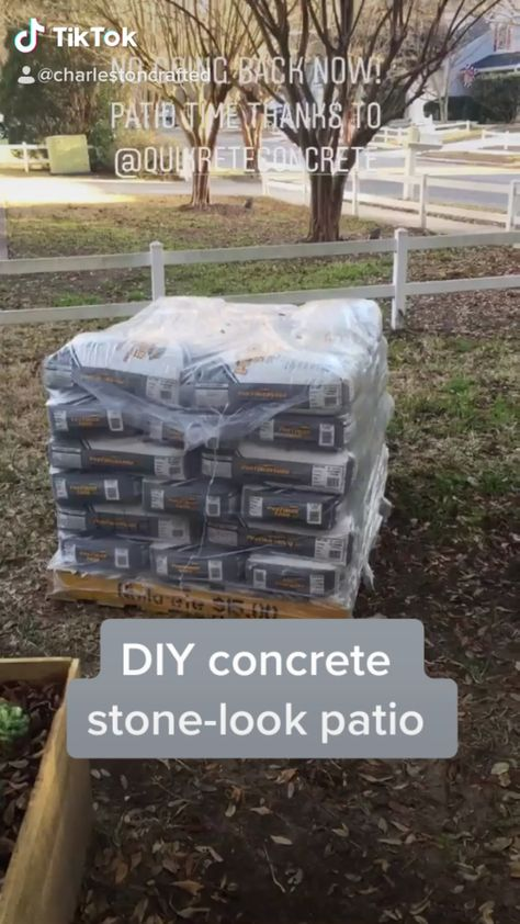 How To Make A Concrete Stone Look Patio