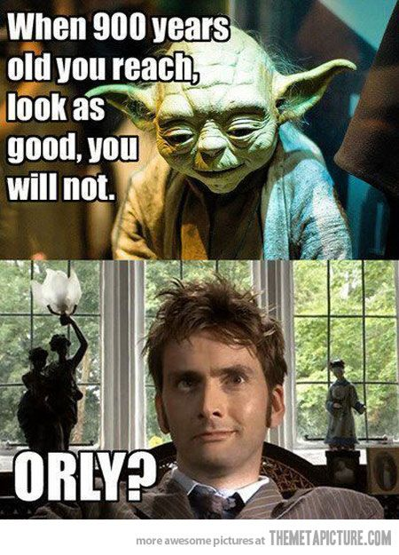900 Years Old Yoda Vs Doctor Who My 7 Year Old Nephew Made A