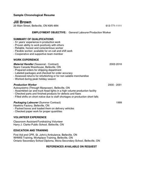 cover letter resume for manufacturing job bizdoska factory ...