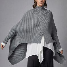 Irregular Hem Bat Sleeve Knit Top  Ladysys #Burberryhandbags  Irregular Hem Bat Sleeve Knit Top  Ladysys #Burberryhandbags