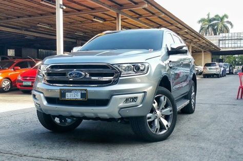 For Sale 2016 Ford Everest Titanium 4wd Automatic Transmission For