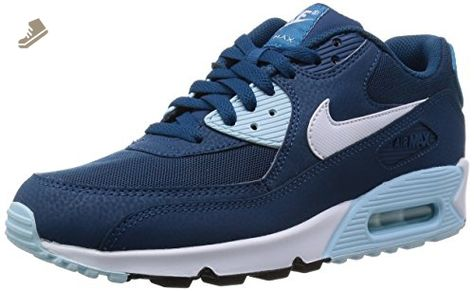 best sneakers 162cd 03dd9 Nike Women s Wmns Air Max 90 Essential , BLUE FORCE WHITE-ICE CUBE BLUE-LT  BL LC, 9.5 US - Nike sneakers for women ( Amazon Partner-Link)