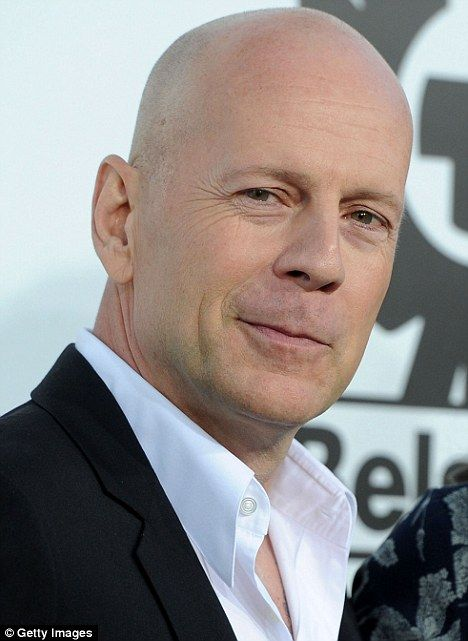 Bruce Willis... My number one (in the over 50 category-lol!) But seriously, he…