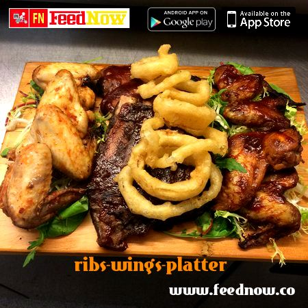 Want Your Delight Your Friends With A Tantalizing Meal At Your Home Order An Incredibly Delicious Ribsandwingsplatter By Irishdemocratpu Pork Ribs Pork Food