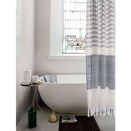 Karla Copper Shower Curtain In 2020 Minimalist Bathroom