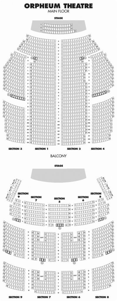 The Most Stylish And Also Lovely Orpheum Minneapolis Seating Chart Seating Charts Chart Chart Design
