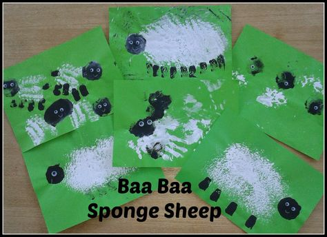 multicraftingmummy: Baa Baa Sponge Sheep