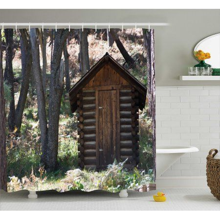 Outhouse Bathroom Set Outhouses Bath Set 5 Piece Country