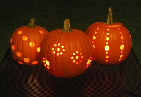 we hear if you dip the drilled pumpkin in a bucket with a bleach water solution, it will last much longer. We hear a tablespoon of bleach to a gallon of water is the best bet, then let dry. Let us know if it works for you, or if you have any other ideas for helping your pumpkins to last! Happy Halloween!