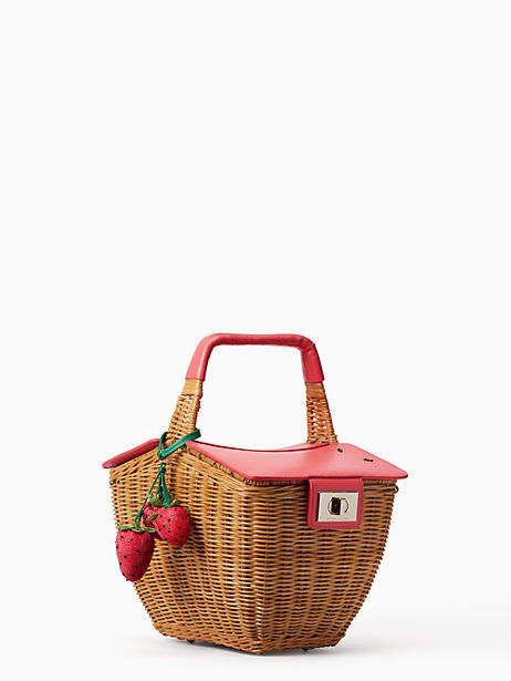 Kate Spade Picnic Perfect 3d Wicker Picnic Basket Kate Spade There Are Picnic Baskets And Then There Ar Wicker Picnic Basket Picnic Basket Vintage Handbags