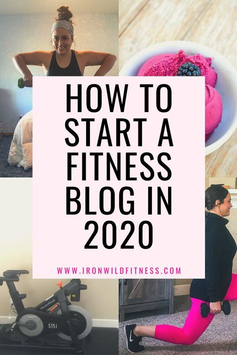How To Start A Fitness Blog in 2020