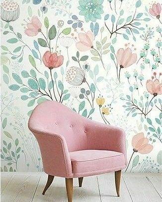 Pin By Toda Casa Quer On Instagran Todacasaquer Wallpaper Living Room Decor Home Decor