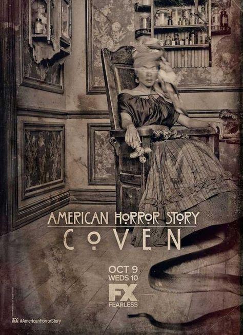 Le adoratrici del Diavolo nei quattro nuovi terrificanti poster di American Horror Story: Coven