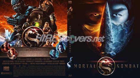 DVD Cover Custom DVD covers BluRay label movie art - Blu-ray CUSTOM Covers - M / Mortal Kombat (2021)