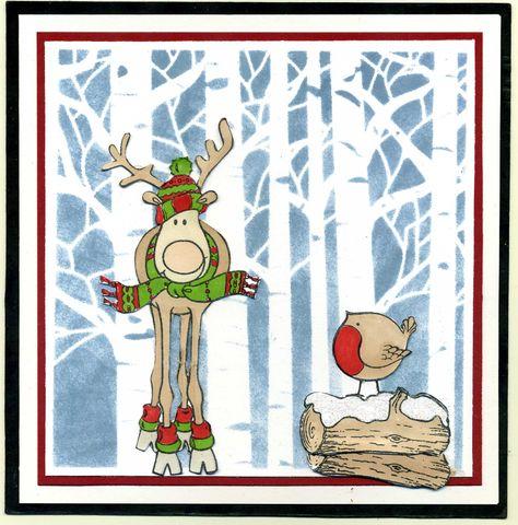 Santa's reindeer(looks like a moose to me)