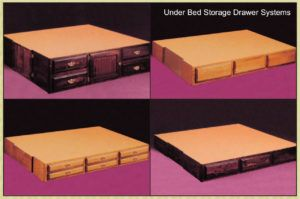 Waterbed Pedestal With Drawers Plans Water Bed Waterbed Frame Woodworking Shop Plans