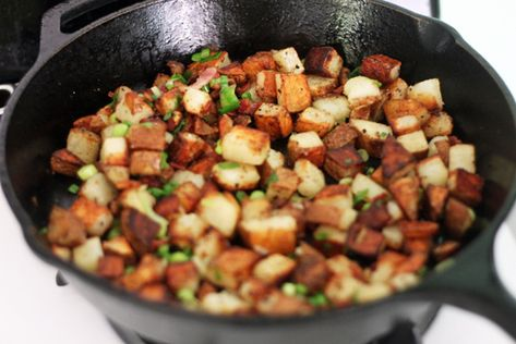 Sunday Morning Potatoes.