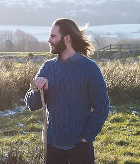 Cash Iroha Guernsey style Sweater | Men sweaters pattern
