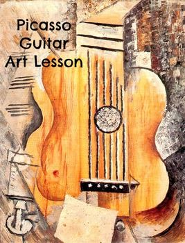 This lesson is in compliance with many ELA Common Core Guidelines Artist: Vincent Van Gogh Art piece: Guitar (I Love Eva) -Art history lesson -painting -questions to ask your students -full color, thorough step by step instructions created by AMI Trained Montessori Teacher