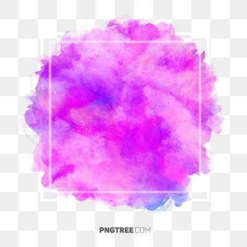 Colorful Pastel Watercolor Frame Border Frame Pastel Square Png