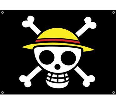One Piece Straw Hat Pirates Flag One Piece Logo One Piece Tattoos Pirate Flag